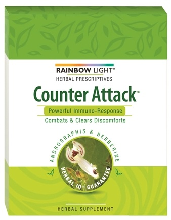 DROPPED: Rainbow Light - Counter Attack Immune Health - 30 Tablets