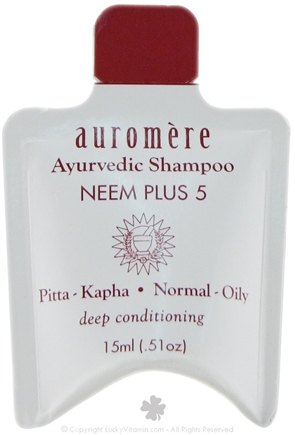 DROPPED: Auromere - Neem Plus 5 Shampoo - 0.51 oz. CLEARANCE PRICED