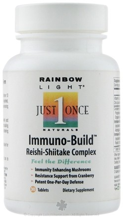 DROPPED: Rainbow Light - Immuno-Build Reishi-Shiitake Complex - 30 Tablets