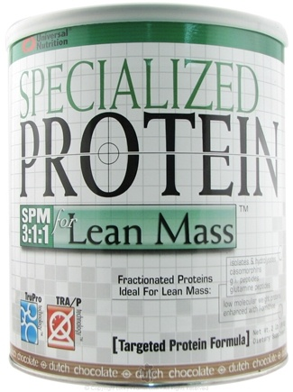DROPPED: Universal Nutrition - Specialized Protein For Lean Mass Chocolate - 2 lbs.