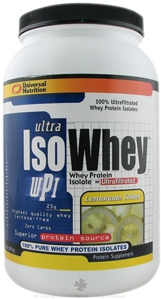 DROPPED: Universal Nutrition - Ultra Iso Whey Lemonade Chiller - 2 lbs.