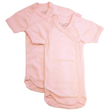 DROPPED: Piccolo Bambino - Baby Bodysuit 0-3 Months Pink - 2 Pack(s)