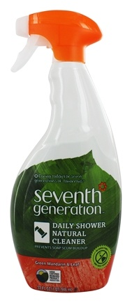 DROPPED: Seventh Generation - Shower Cleaner Spray Green Mandarin & Leaf - 32 oz.