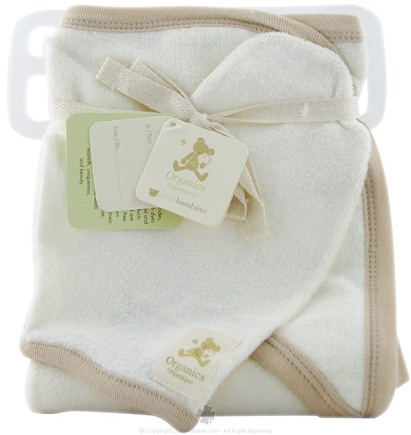 DROPPED: Piccolo Bambino - Hooded Towel and Wash Mitt Ivory
