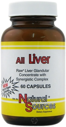 DROPPED: Natural Sources - All Liver - 60 Capsules