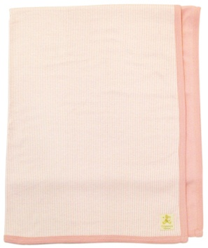 DROPPED: Piccolo Bambino - Organic Reversible Blanket Pink - CLEARANCE PRICED