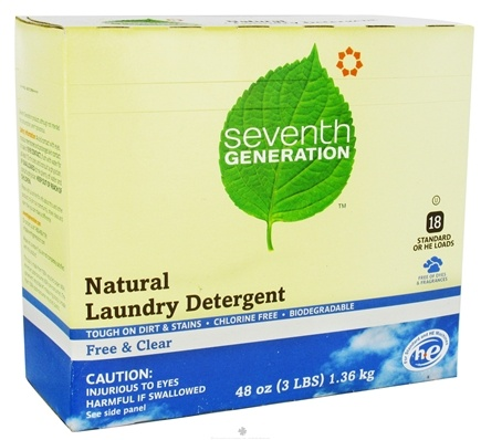 DROPPED: Seventh Generation - Ultra Laundry Powder Free & Clear - 48 oz. CLEARANCE PRICED
