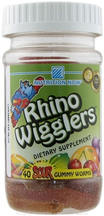 DROPPED: Nutrition Now - Rhino Wigglers variety - 40 Gummies