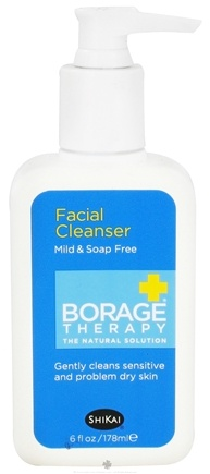 Shikai - Borage Therapy Facial Cleanser - 6 oz.