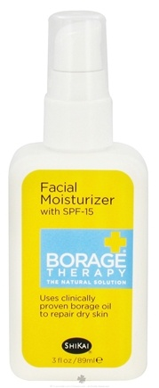 DROPPED: Shikai - Borage Therapy Facial Moisturizer with SPF 15 - 2 oz.