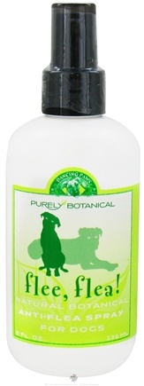 DROPPED: Dancing Paws - Purely Botanical Flee, Flea! Natural Anti-Flea Spray for Dogs - 8 oz.
