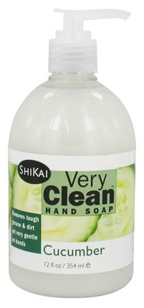 Shikai - Very Clean Liquid Hand Soap Cucumber - 12 oz.