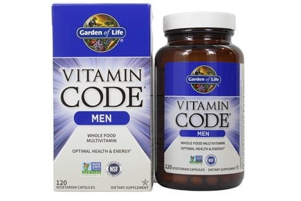 Garden of Life - Vitamin Code RAW Men's Multi Formula - 120 Vegetarian Capsules
