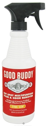 DROPPED: Castor & Pollux - Good Buddy Out Spot! All Natural Stain & Odor Remover Citrus Scent - 16 oz. CLEARANCE PRICED