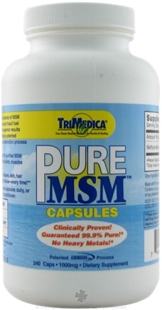 DROPPED: Trimedica - Pure MSM 1000mg - 240 Capsules