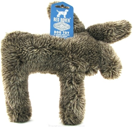 DROPPED: Castor & Pollux - Red Rover Dog Toy Plush Moose - CLEARANCE PRICED