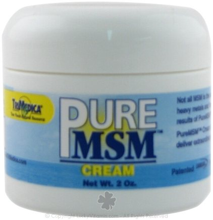 DROPPED: Trimedica - Pure MSM Cream - 2 oz.