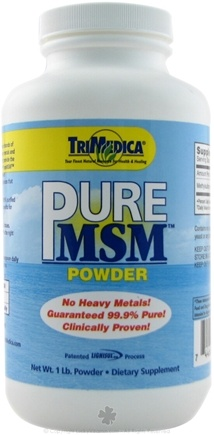 DROPPED: Trimedica - Pure MSM Powder - 1 lb.