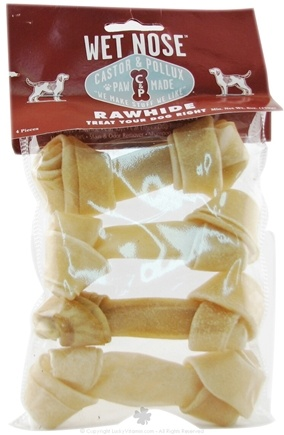 DROPPED: Castor & Pollux - Wet Nose Rawhide - 6 oz.