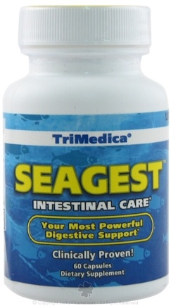 DROPPED: Trimedica - SeaGest Intestinal Care - 60 Capsules CLEARANCE PRICED