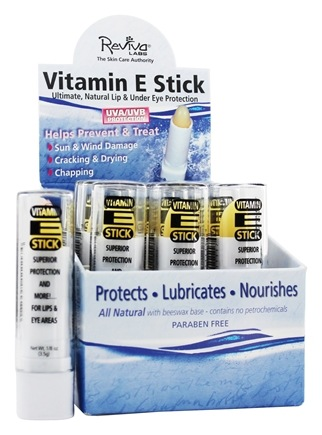 Reviva Labs - Vitamin E Oil Stick - 0.125 oz.