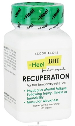 DROPPED: BHI/Heel - Recuperation - 100 Tablets CLEARANCE PRICED