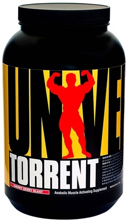 DROPPED: Universal Nutrition - Torrent Anabolic Muscle Activating Supplement Cherry Berry Blast - 3.28 lbs. CLEARANCE PRICED