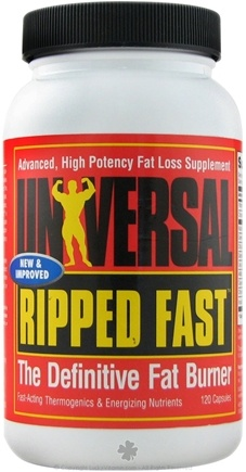 DROPPED: Universal Nutrition - Ripped Fast - 120 Capsules