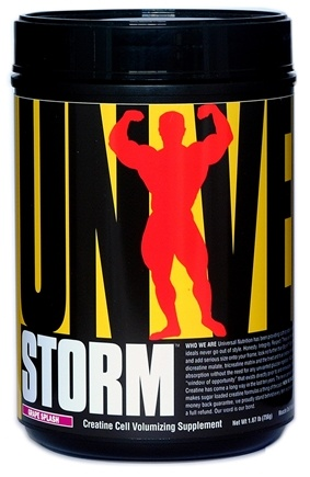 DROPPED: Universal Nutrition - Storm Creatine Cell Volumizing Supplement Grape Splash - 1.84 lbs. CLEARANCE PRICED