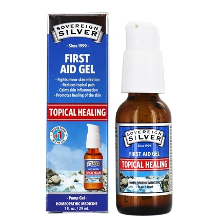 Sovereign Silver - Silver First Aid Gel - 1 oz.