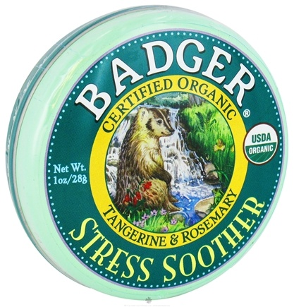DROPPED: Badger - Stress Soother Balm - 1 oz. CLEARANCE PRICED