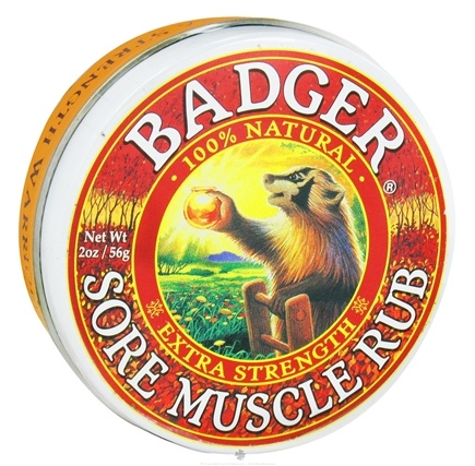 DROPPED: Badger - Sore Muscle Rub Extra Strength - 2 oz.