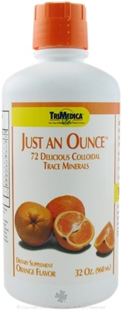 DROPPED: Trimedica - Just An Ounce Trace Minerals Orange - 32 oz. CLEARANCE PRICED