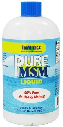DROPPED: Trimedica - Pure MSM Liquid - 16 oz.