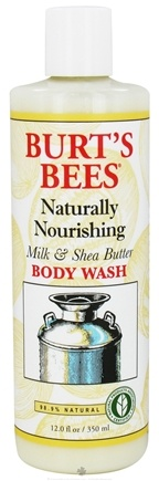 DROPPED: Burt's Bees - Body Wash Naturally Nourishing Milk & Shea Butter - 12 oz.