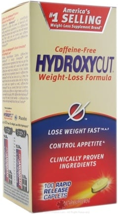 DROPPED: Muscletech Products - Hydroxycut Caffeine Free Weight Loss Formula - 100 Caplets