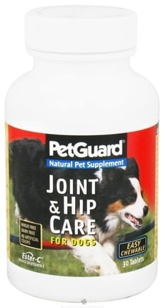 DROPPED: Pet Guard - Joint & Hip Care for Dogs with Ester-C - 30 Tablets