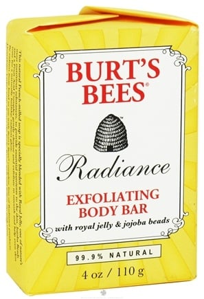 DROPPED: Burt's Bees - Radiance Exfoliating Body Bar - 4 oz.