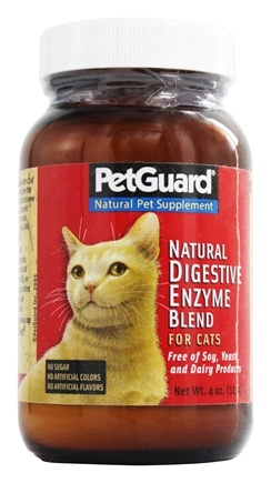 Pet Guard - High Potency Digestive Enzymes For Cats - 4 oz.