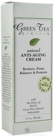 DROPPED: Green Tea Skin - Natural Anti-Aging Cream - 1.7 oz.