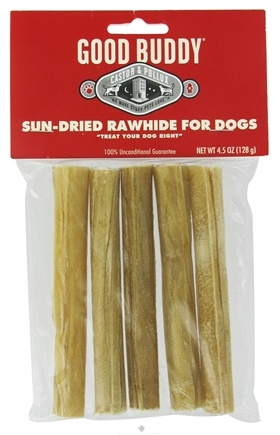 DROPPED: Castor & Pollux - Good Buddy Sun-Dried Rawhide For Dogs - 5 Stick(s) Formerly Wet Nose Rawhide