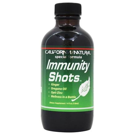 California Natural - Immunity Shots - 4 oz. Formerly Wellness Shots