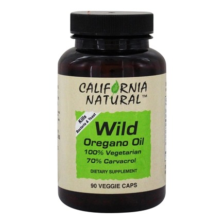 California Natural - Wild Oregano Oil - 90 Capsules