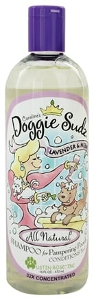 Austin Rose - Doggie Sudz Organic Pet Shampoo & Conditioner Lavender & Neem - 16 oz.