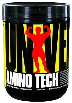 DROPPED: Universal Nutrition - Amino Tech Amino Acid Complex - 375 Tablets