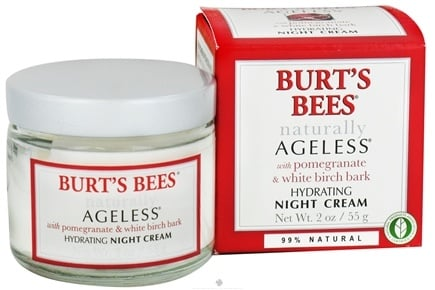 Burt's Bees - Naturally Ageless Hydrating Night Creme - 2 oz.
