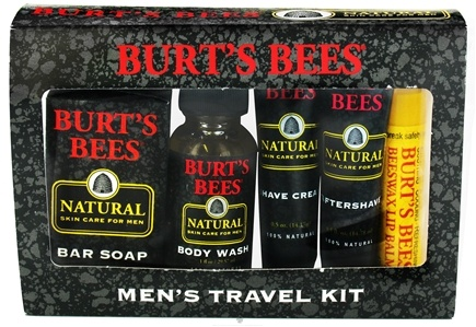 DROPPED: Burt's Bees - Mens Travel Kit - CLEARANCE PRICED