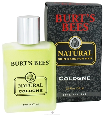 DROPPED: Burt's Bees - Natural Skin Care for Men Cologne - 2 oz.