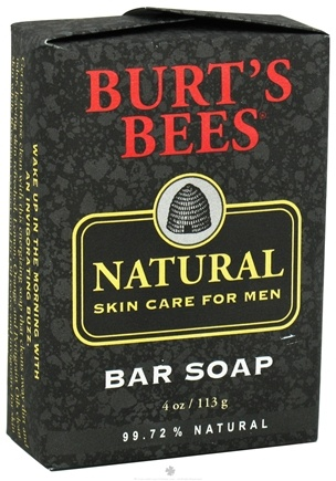 DROPPED: Burt's Bees - Natural Skin Care for Men Bar Soap - 4 oz.