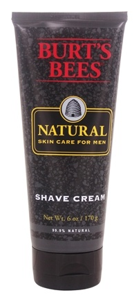 DROPPED: Burt's Bees - Natural Skin Care for Men Shave Cream - 6 oz.